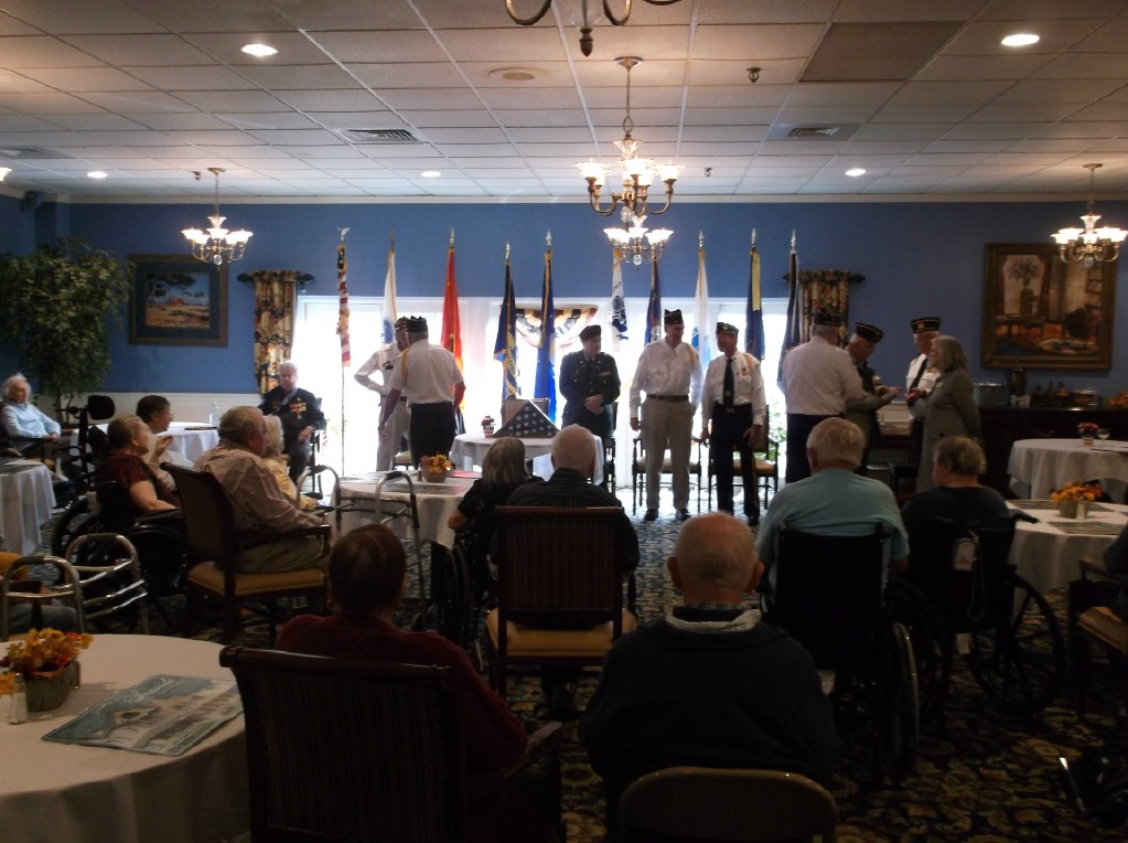 Veterans Day at Life Care Center